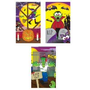 Halloween Notebook Notepad Jotter - Boys & Girls Party Bag Fillers